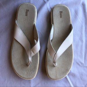Bass Cacia Sandals White 11M